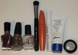 Empties December 2015 Makeup